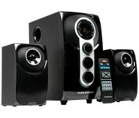 Nakatomi GS-32 BLACK - 2.1, Bluetooth, FM, USB+SD reader