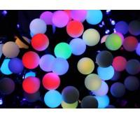 Гирлянда шарики прозрачные 20 шт Led , 5м, упаковка оем