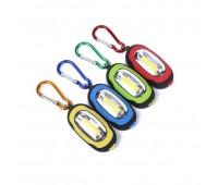 Фонарик - брелок LED COB Магнит (разные цвета) 22 гр