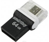 Накопитель USB 2.0  Smart Buy 32GB POKO series OTG black
