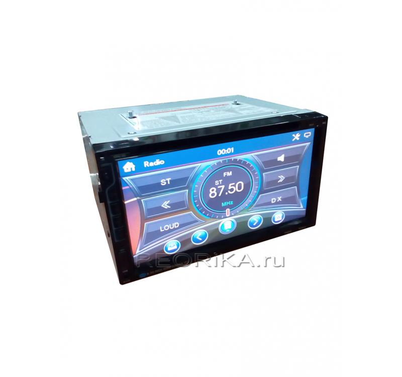 Мультимедийный ресивер 6083 BT X SOUND  2 Din/DVD/VCD/MP4/MP3/AM-FM