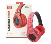 Наушники STN 17 MP3+Bluetooth+FM LED