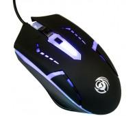 Мышь MGK-03U Dialog Gan-Kata - игровая, 4 кнопки + ролик, 7-ми цветная подсветка, USB, черная
