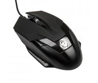 Мышь MGK-06U Dialog Gan-Kata - игровая, 4 кнопки + ролик ,USB, черная