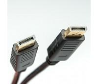 Dialog CV-0818 black - кабель Displayport (M) - Displayport (M), V1.1, 1,8 м