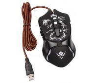 Мышь MOG-25U Nakatomi Gaming mouse 6 кнопок 7ми цветная подсветка USB,
