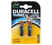Эл.питания Duracell LR03-2BL TURBO