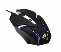 Мышь MOG-03U Nakatomi Gaming mouse 4 кнопок 7ми цветная. USB,
