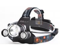 Налобный сверхяркий фонарь Cree XM-L T6 LED 1800 Lumens