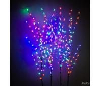 Декоративное дерево с подсветкой 150 см ветка с Шишечками