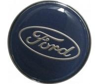 Декоративный колпак ступичного подшипника FORD диаметр 56,5-65,5 мм(зеркальные)
