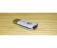 Картридер TF (MicroSD) - USB 2.0 с колпачком