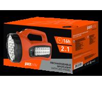 Фонарь Аккумуляторный Фонарь JAZZway Accu7-L19/L16-og (оранж)