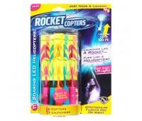 Светящиеся ракеты вертолеты Rocket Copters