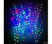 Декоративное дерево с подсветкой 150 см ветка с Листиками