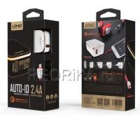 Cетевое зарядное/AUTO -ID 2.4 LDNIO A1204Q